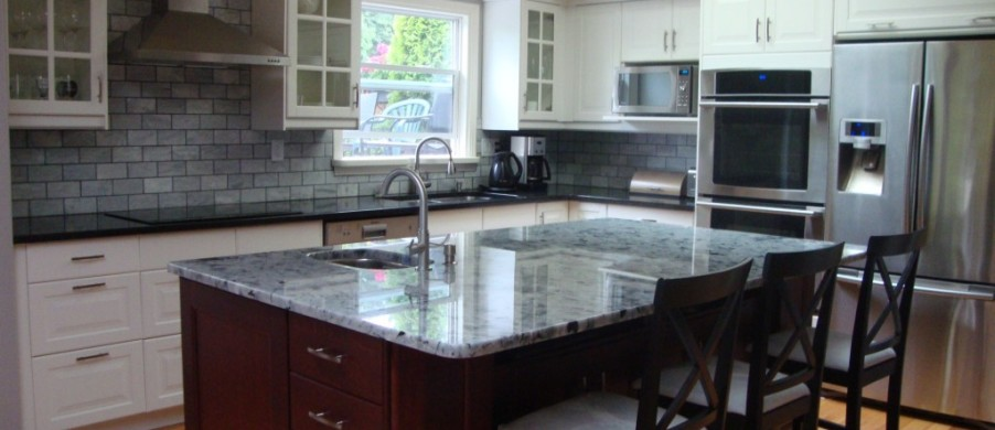 Countertops in victoria bc granite quartz marble for Kitchen design victoria bc